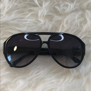 Black Michael Kors Aviators